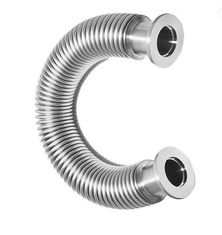 Commercial Stainless Steel Flexible Bellows , Flexible Bellows Vacuum Hose